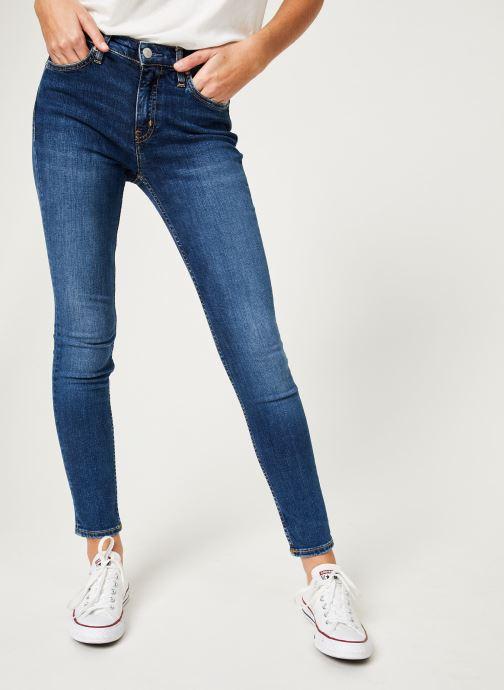 Vêtements Calvin Klein Jeans CKJ 011 Mid Rise Skinny Bleu vue détail/paire