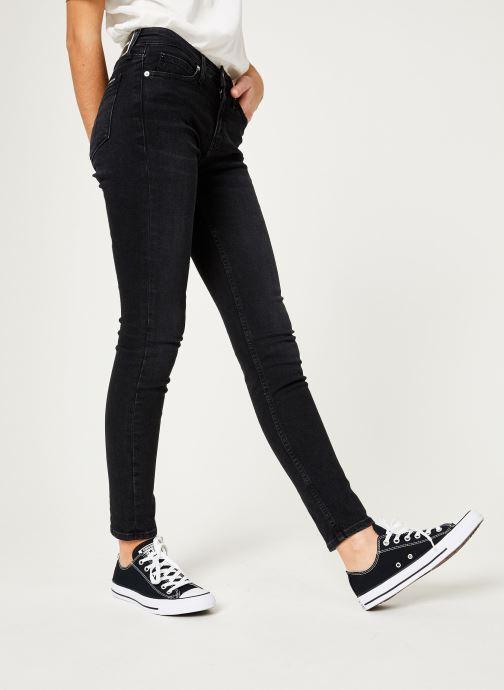 Kleding Calvin Klein Jeans CKJ 011 Mid Rise Skinny Zwart detail