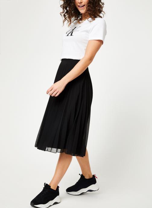 Vêtements Calvin Klein Jeans Core Monogram Logo Regular Fit Tee Blanc vue bas / vue portée sac