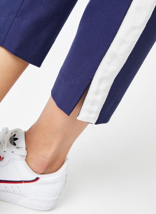 Vêtements Calvin Klein Jeans Side Stripe Twill Pant Bleu vue face