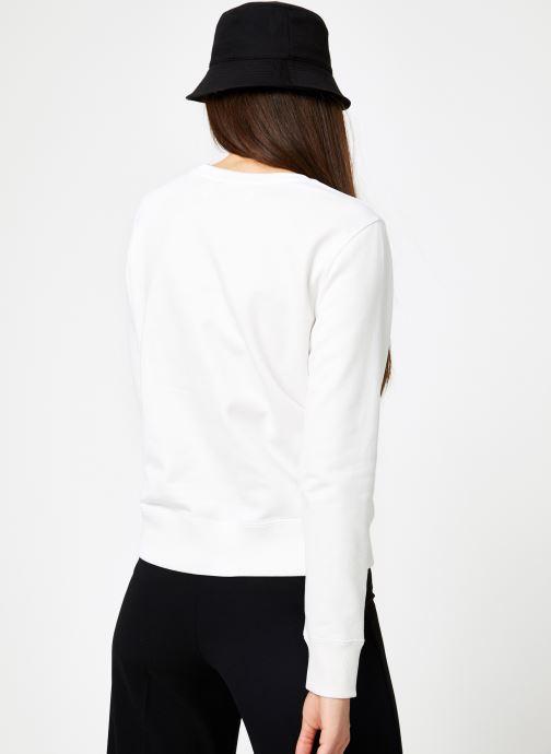 Kleding Calvin Klein Jeans Institutional Regular Crew Neck Wit model