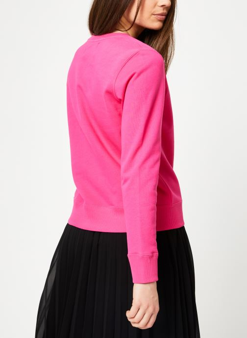 Kleding Calvin Klein Jeans Institutional Regular Crew Neck Roze model