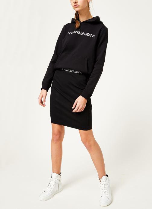 Kleding Calvin Klein Jeans Milano Pencil Skirt Zwart onder