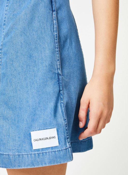 Klein DressbleuVêtements Ss Sarenza367240 Jeans Calvin Chez Tencel Indigo TKclJF1