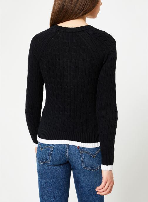 Chez Klein noir Jeans Vêtements Sweater 367242 Calvin Cable nYdTqBTw