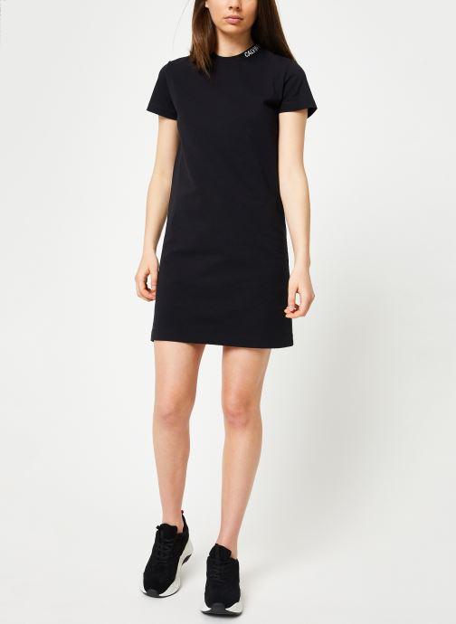 Kleding Calvin Klein Jeans Skater Tee Dress Zwart onder
