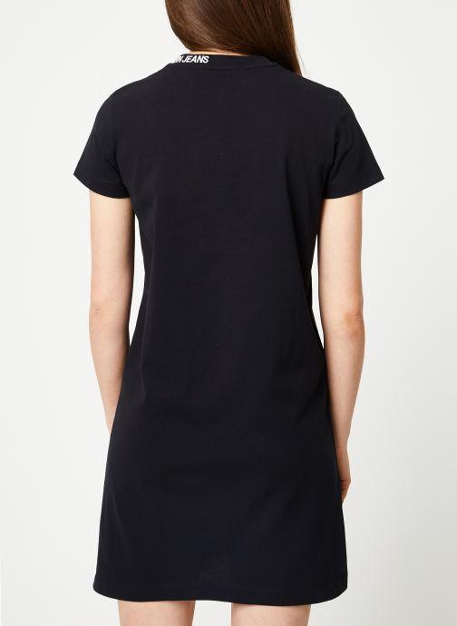 Kleding Calvin Klein Jeans Skater Tee Dress Zwart model