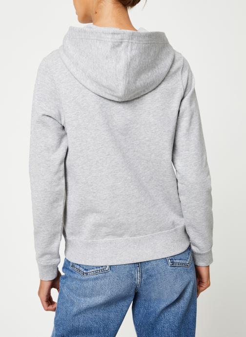 Kleding Calvin Klein Jeans Institutional Hoodie Grijs model