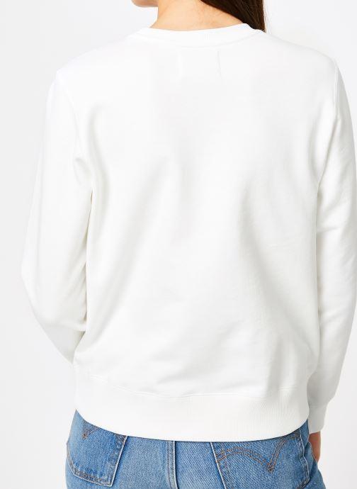 Kleding Calvin Klein Jeans Monogram Outline Box CN Wit model
