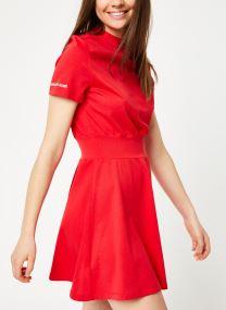 SS Rib Mix Dress