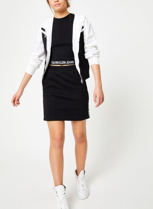 Vêtements Calvin Klein Jeans Milano Tank Noir vue bas / vue portée sac