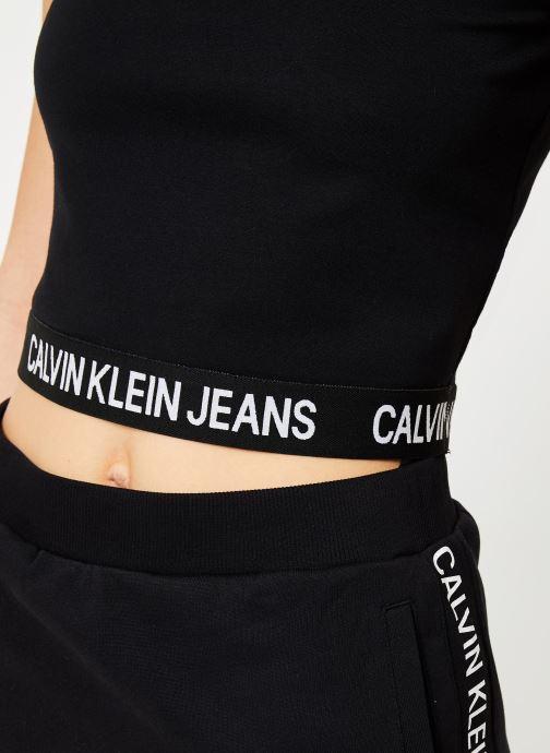 Vêtements Calvin Klein Jeans Milano Tank Noir vue face