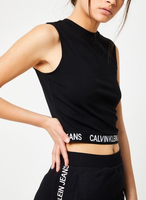 Vêtements Calvin Klein Jeans Milano Tank Noir vue détail/paire