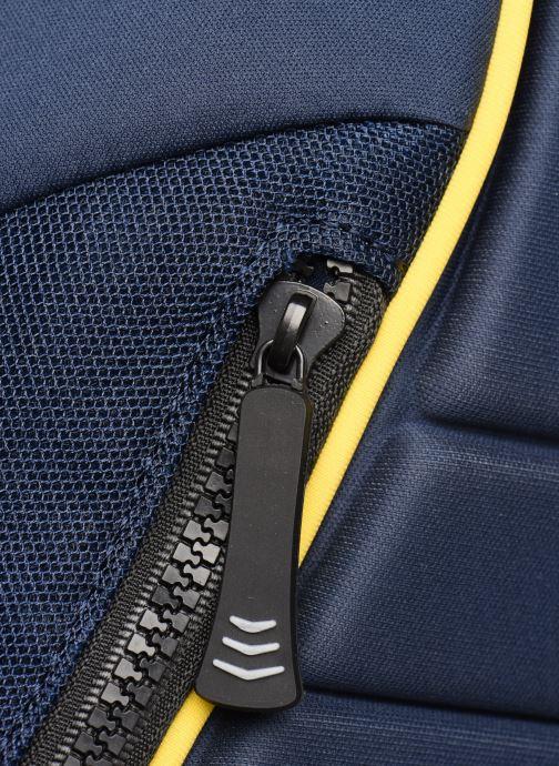 Mochilas Vespa SEAT Azul vista lateral izquierda
