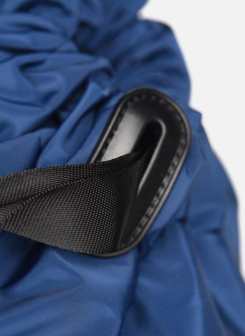 Mochilas Vespa CLOUD Azul vista lateral izquierda