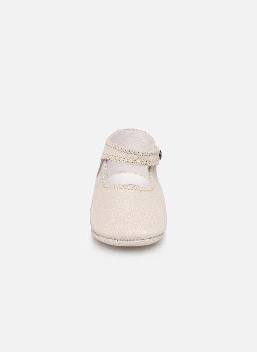Pantoffels Bout'Chou CHAUSSON BRILLANT Grijs model
