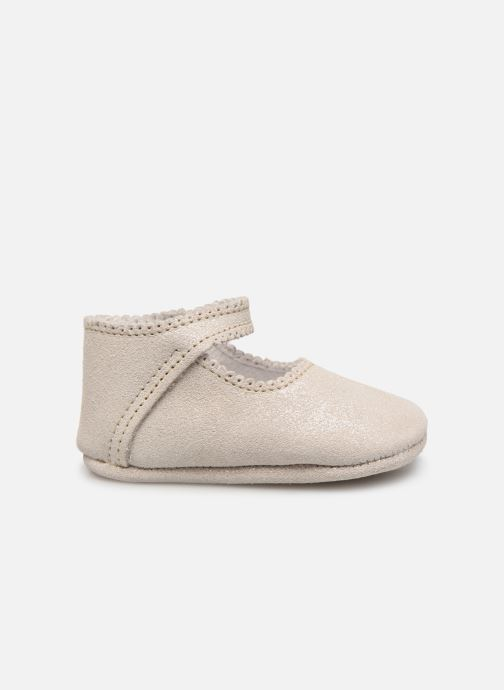 Pantoffels Bout'Chou CHAUSSON BRILLANT Grijs achterkant