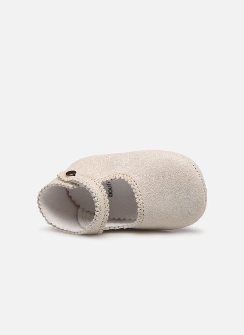 Pantoffels Bout'Chou CHAUSSON BRILLANT Grijs links
