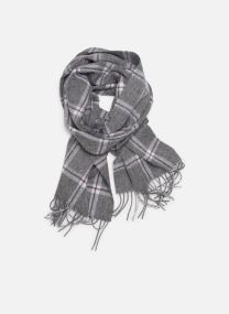 Scarf Accessories ECHARPE CARREAUX GRIS CHINE