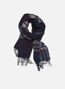 Scarf Accessories ECHARPE CARREAUX LAINE MARINE