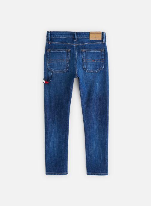 Vêtements Tommy Hilfiger KB0KB04649 Bleu vue bas / vue portée sac