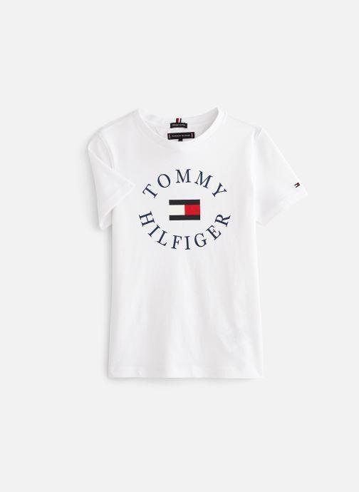 Vêtements Tommy Hilfiger KB0KB04676 Blanc vue détail/paire