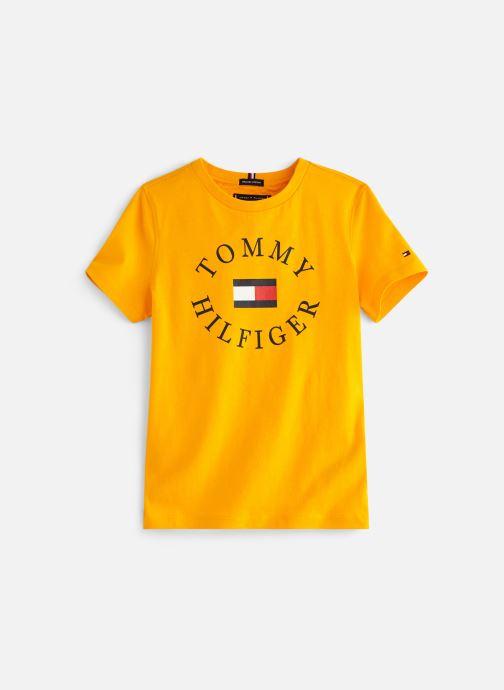 Vêtements Tommy Hilfiger KB0KB04676 Jaune vue détail/paire