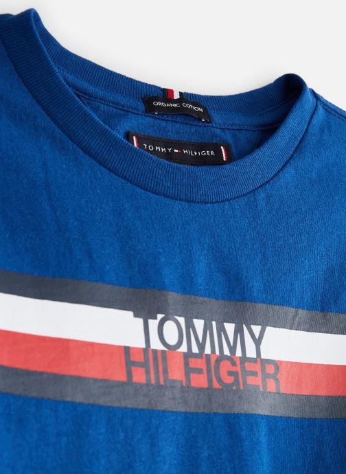 Ropa Tommy Hilfiger KB0KB04678 Azul vista del modelo