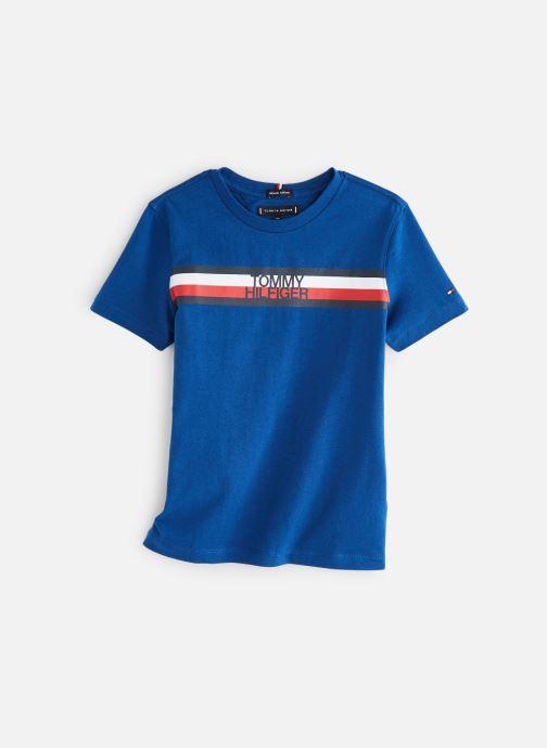 Vêtements Tommy Hilfiger KB0KB04678 Bleu vue détail/paire