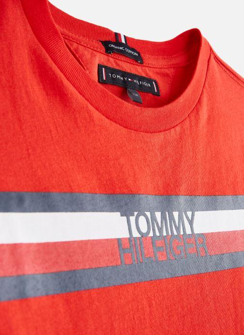 Ropa Tommy Hilfiger KB0KB04678 Rojo vista del modelo