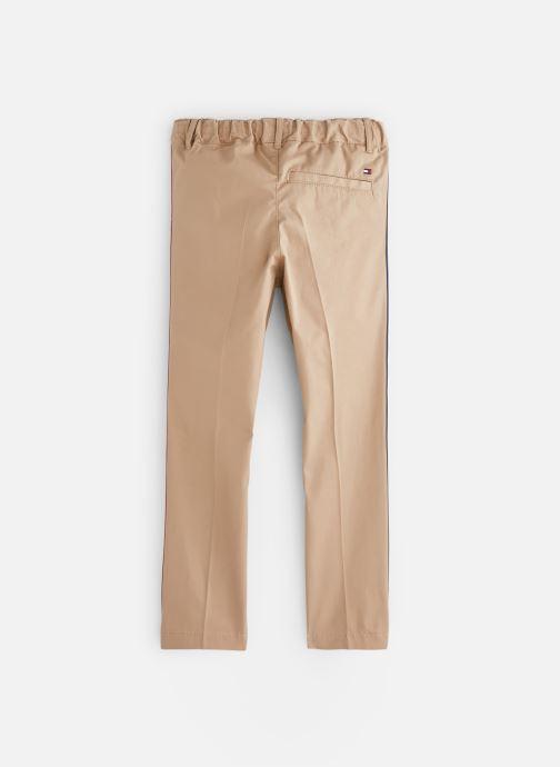 Vêtements Tommy Hilfiger KB0KB04751 Marron vue bas / vue portée sac