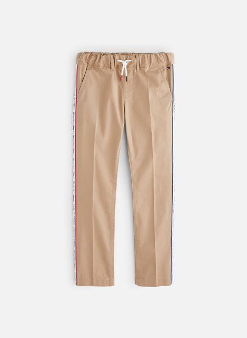 Vêtements Tommy Hilfiger KB0KB04751 Marron vue détail/paire