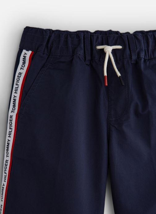 Vêtements Tommy Hilfiger KB0KB04781 Bleu vue portées chaussures