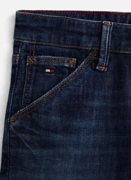 Vêtements Tommy Hilfiger KB0KB04836 Bleu vue portées chaussures