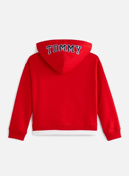 Vêtements Tommy Hilfiger KG0KG04180 Rouge vue bas / vue portée sac