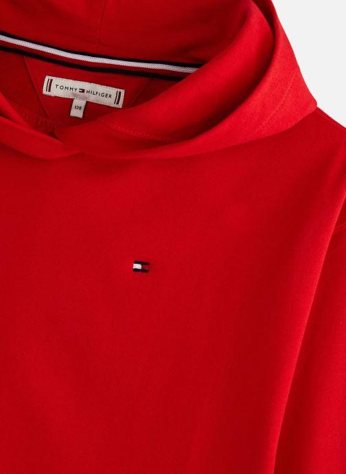 Vêtements Tommy Hilfiger KG0KG04180 Rouge vue portées chaussures