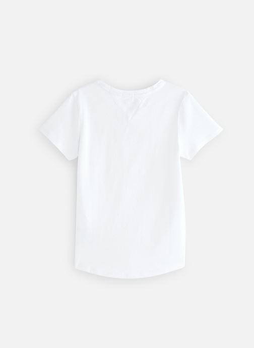 Vêtements Tommy Hilfiger KG0KG04192 Blanc vue bas / vue portée sac