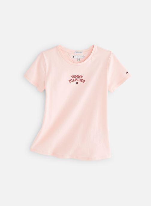 Vêtements Tommy Hilfiger KG0KG04192 Rose vue détail/paire