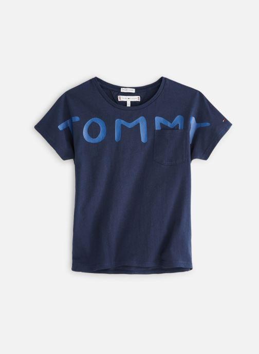 Vêtements Tommy Hilfiger KG0KG04202 Bleu vue détail/paire