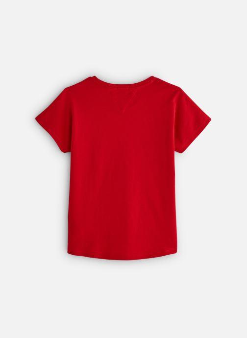 Vêtements Tommy Hilfiger KG0KG04202 Rouge vue bas / vue portée sac