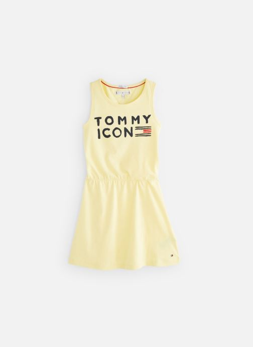 Kleding Tommy Hilfiger KG0KG04290 Geel detail
