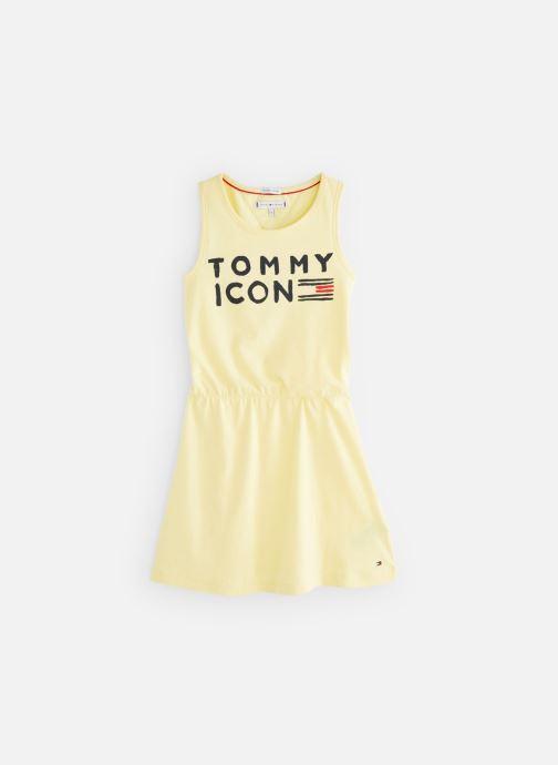 Vêtements Tommy Hilfiger KG0KG04290 Jaune vue détail/paire