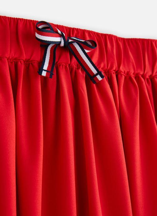 Vêtements Tommy Hilfiger KG0KG04301 Rouge vue portées chaussures