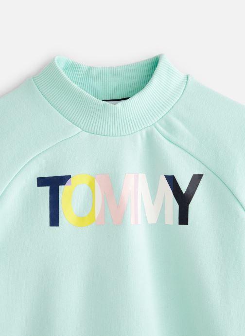 Vêtements Tommy Hilfiger KG0KG04348 Bleu vue portées chaussures