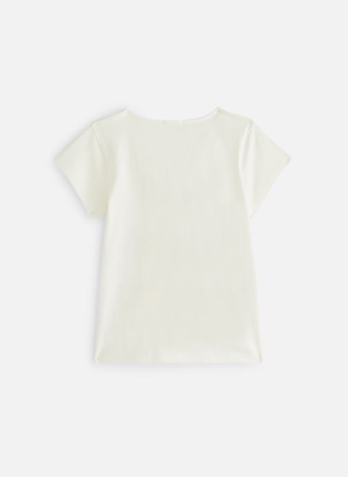 Vêtements Billieblush U15608 Blanc vue bas / vue portée sac