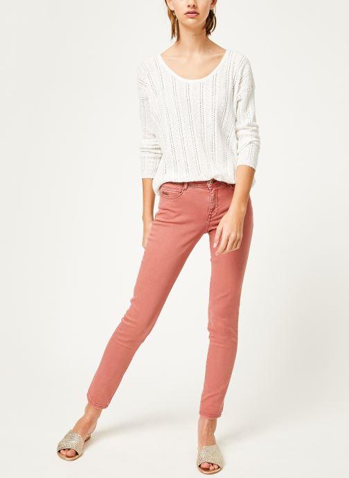 Vêtements Kanopé Pantalon emma twill Orange vue bas / vue portée sac