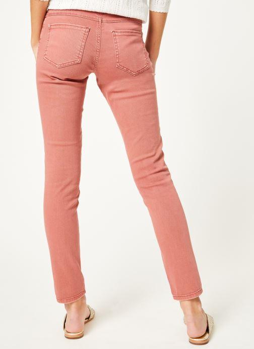 Vêtements Kanopé Pantalon emma twill Orange vue portées chaussures