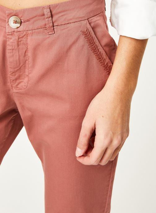 Vêtements Kanopé Pantalon dahlia toile Orange vue face