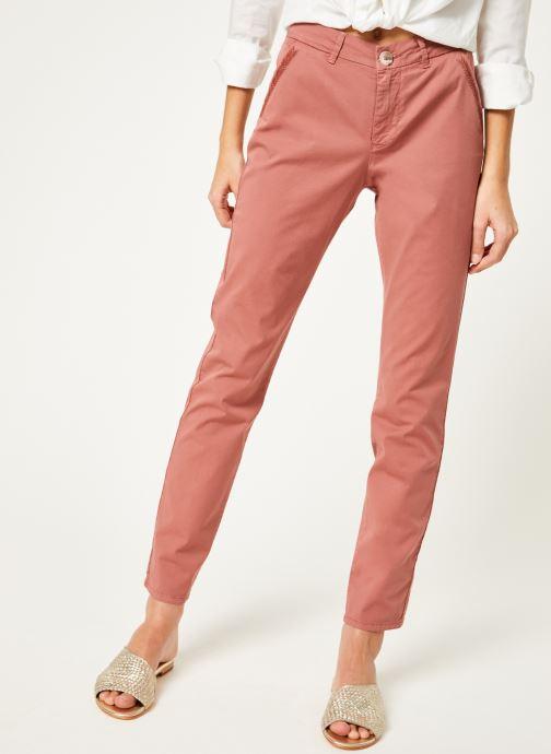 Vêtements Kanopé Pantalon dahlia toile Orange vue détail/paire