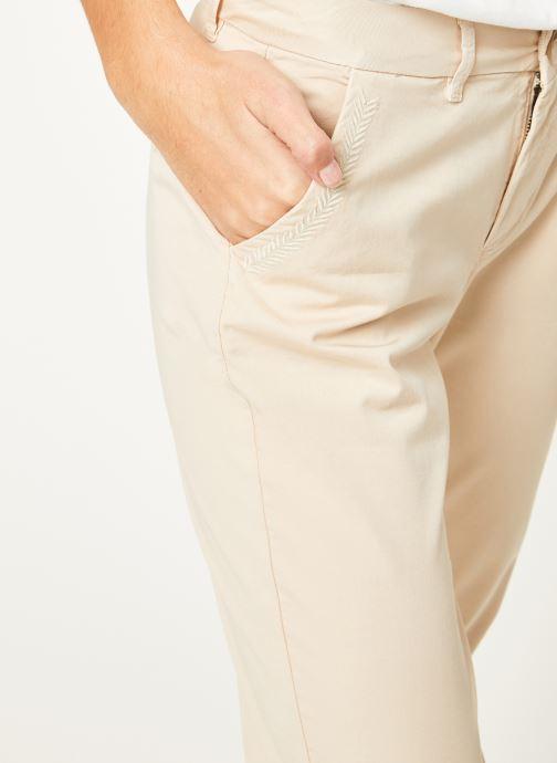 Vêtements Kanopé Pantalon dahlia toile Beige vue face